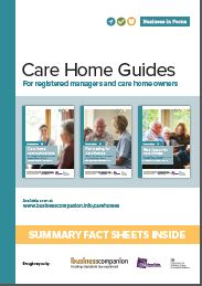Care home guidance summaries